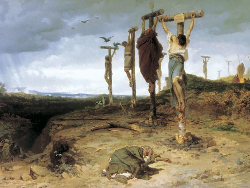 La tortura della croce